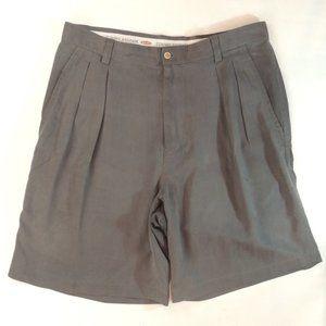 Tommy Bahama Men's Gray Shorts Relaxed Size 34